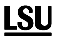 LSU enbart LSU